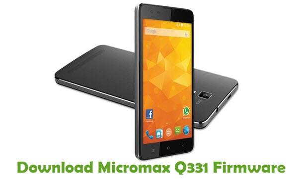 Download Micromax Q331 Firmware