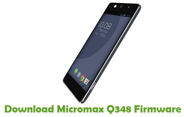 Download Micromax Q348 Firmware