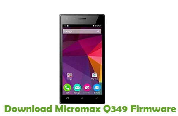 Download Micromax Q349 Firmware