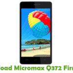 Micromax Q372 Firmware