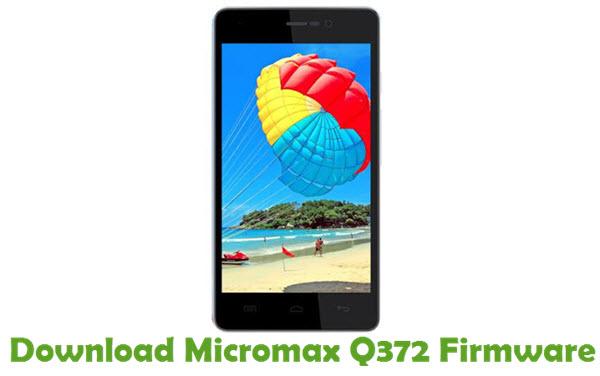 Download Micromax Q372 Firmware