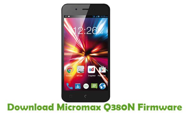 Download Micromax Q380N Firmware