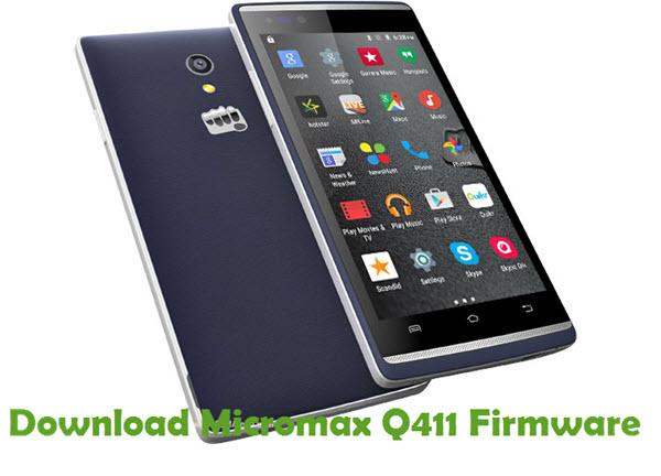 Download Micromax Q411 Firmware