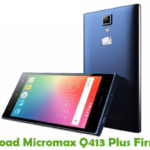 Micromax Q413 Plus Firmware