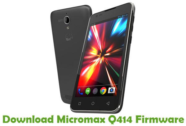Download Micromax Q414 Firmware
