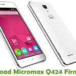 Micromax Q424 Firmware