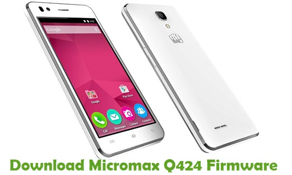 Download Micromax Q424 Stock ROM