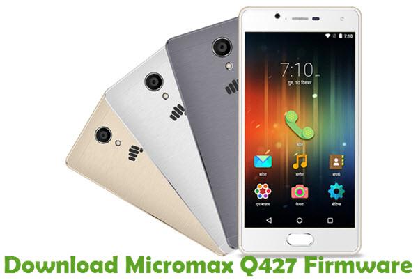 Download Micromax Q427 Firmware