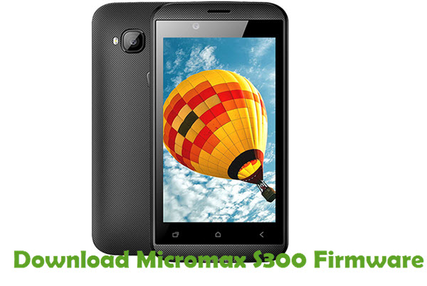 Download Micromax S300 Firmware