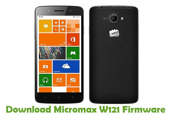 Download Micromax W121 Firmware