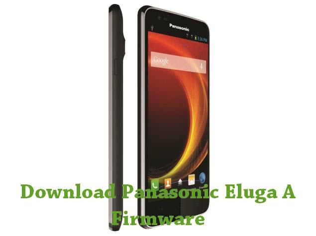 Download Panasonic Eluga A Firmware