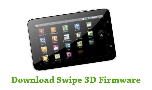 Download Swipe 3D Firmware