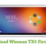 Winmax TX5 Firmware