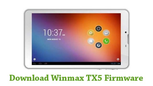 Download Winmax TX5 Firmware