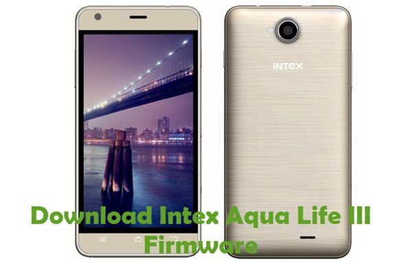 Intex Aqua Life III Firmware