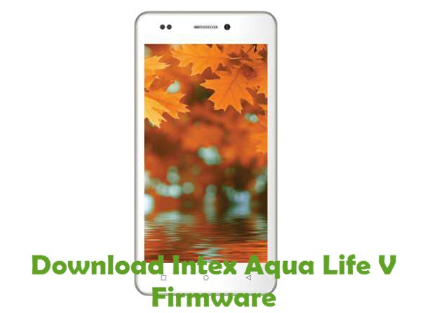 Intex Aqua Life V Firmware