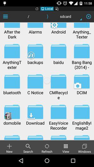 SDCard Folder