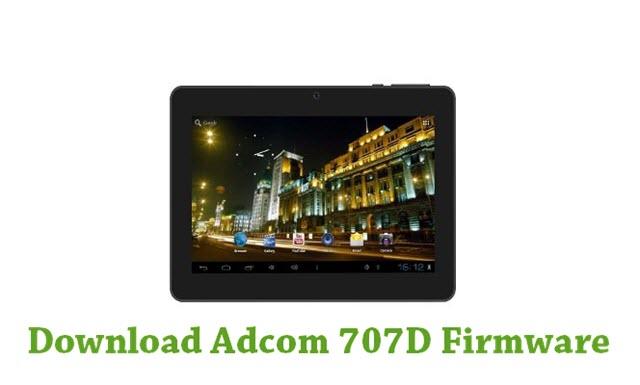 Download Adcom 707D Firmware