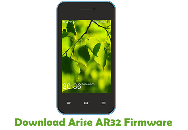 Download Arise AR32 Firmware