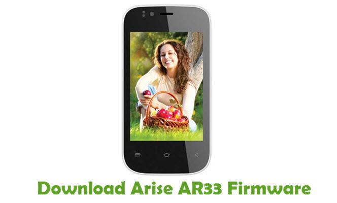 Download Arise AR33 Firmware