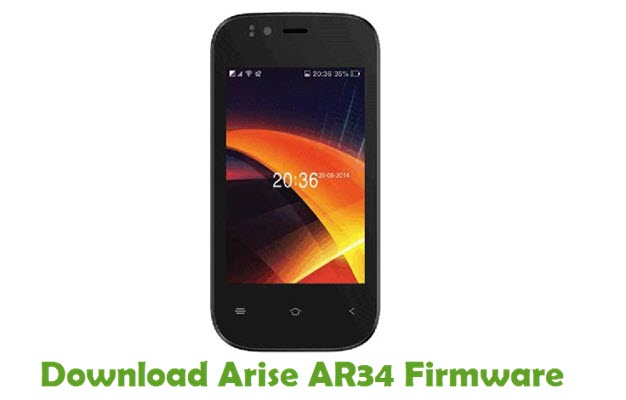 Download Arise AR34 Firmware