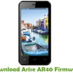 Arise AR40 Firmware