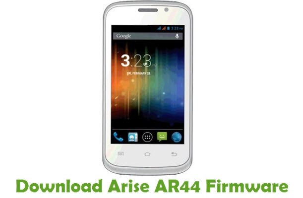 Download Arise AR44 Firmware