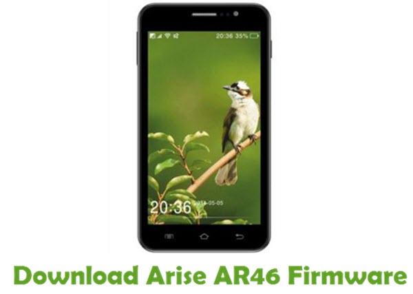 Download Arise AR46 Stock ROM