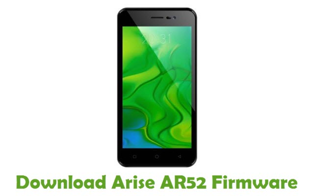 Download Arise AR52 Firmware