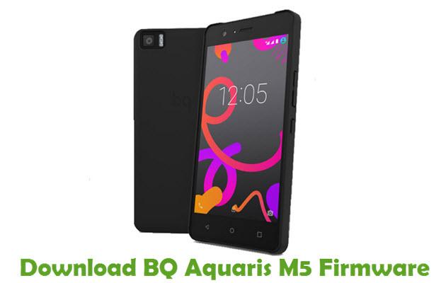 Download BQ Aquaris M5 Firmware