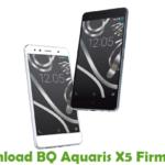 BQ Aquaris X5 Firmware