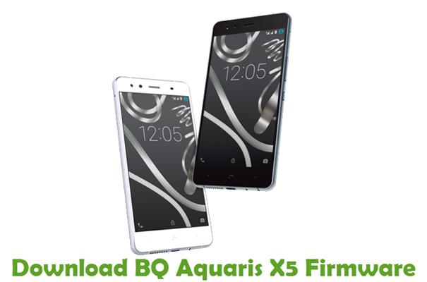 Download BQ Aquaris X5 Stock ROM