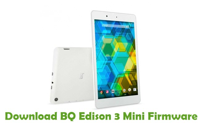 Download BQ Edison 3 Mini Firmware