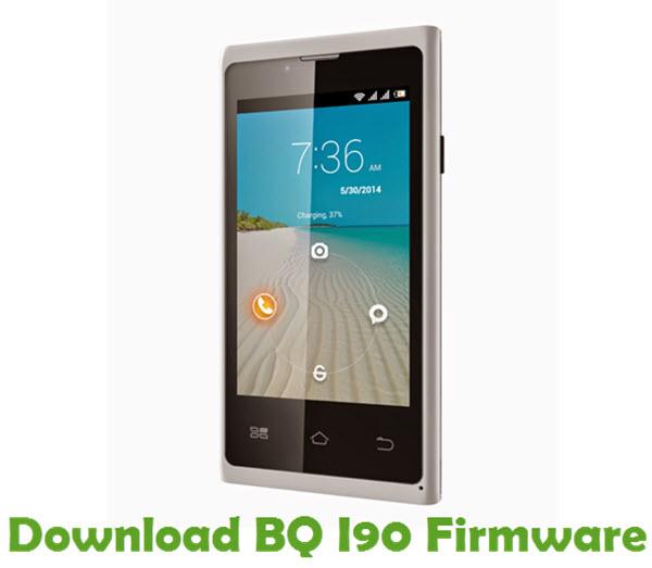 Download BQ I90 Firmware