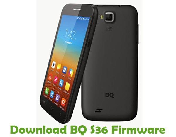 Download BQ S36 Stock ROM