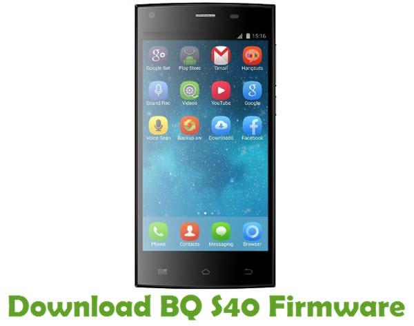 Download BQ S40 Firmware