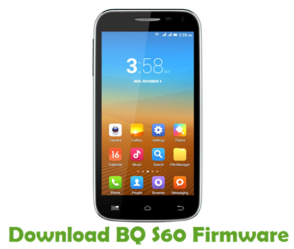 Download BQ S60 Stock ROM