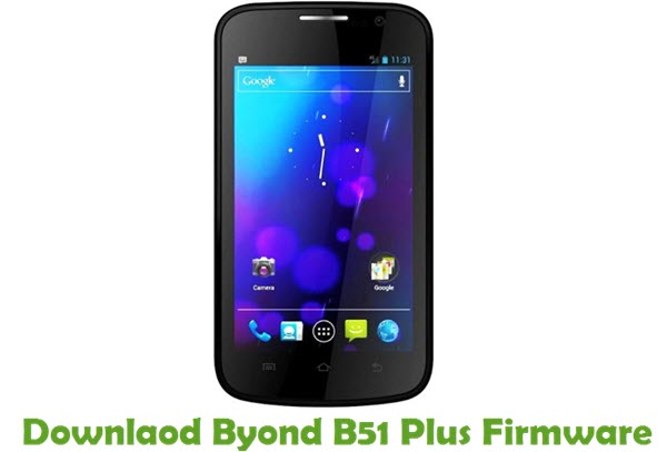 Download Byond B51 Plus Firmware
