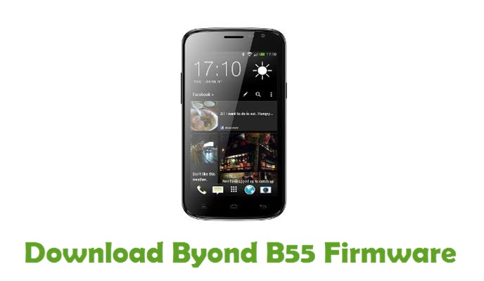 Download Byond B55 Firmware
