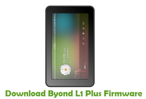 Download Byond L1 Plus Firmware