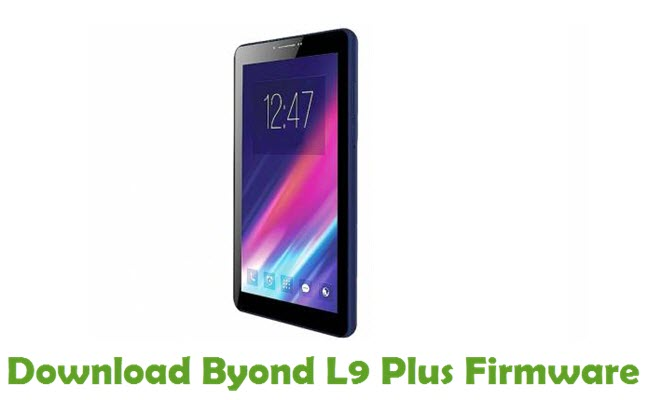 Download Byond L9 Plus Firmware