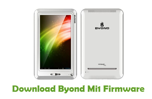Download Byond Mi1 Stock ROM