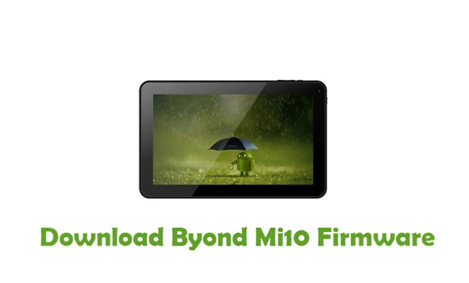 Download Byond Mi10 Firmware