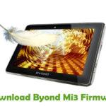 Byond Mi3 Firmware