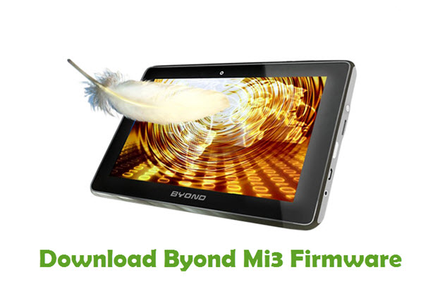 Download Byond Mi3 Firmware