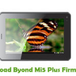Byond Mi5 Plus Firmware