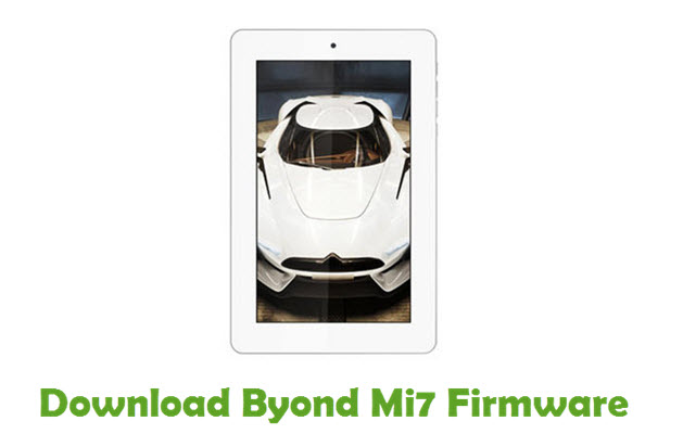 Download Byond Mi7 Firmware