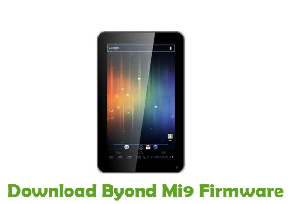 Download Byond Mi9 Firmware