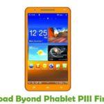 Byond Phablet PIII Firmware