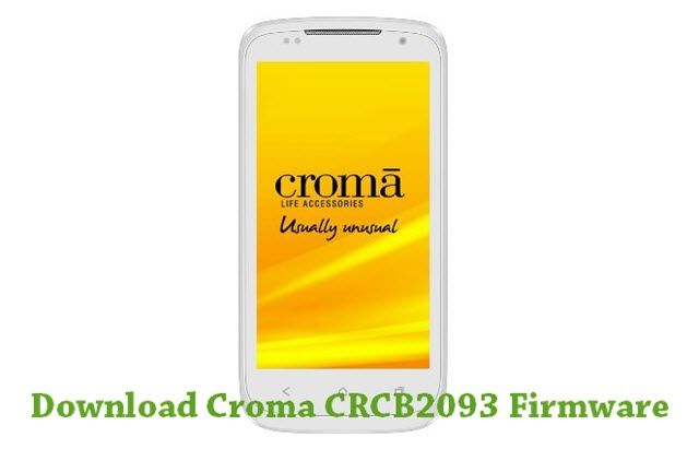 Download Croma CRCB2093 Firmware